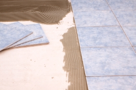Ceramic Tile Flooring Installation